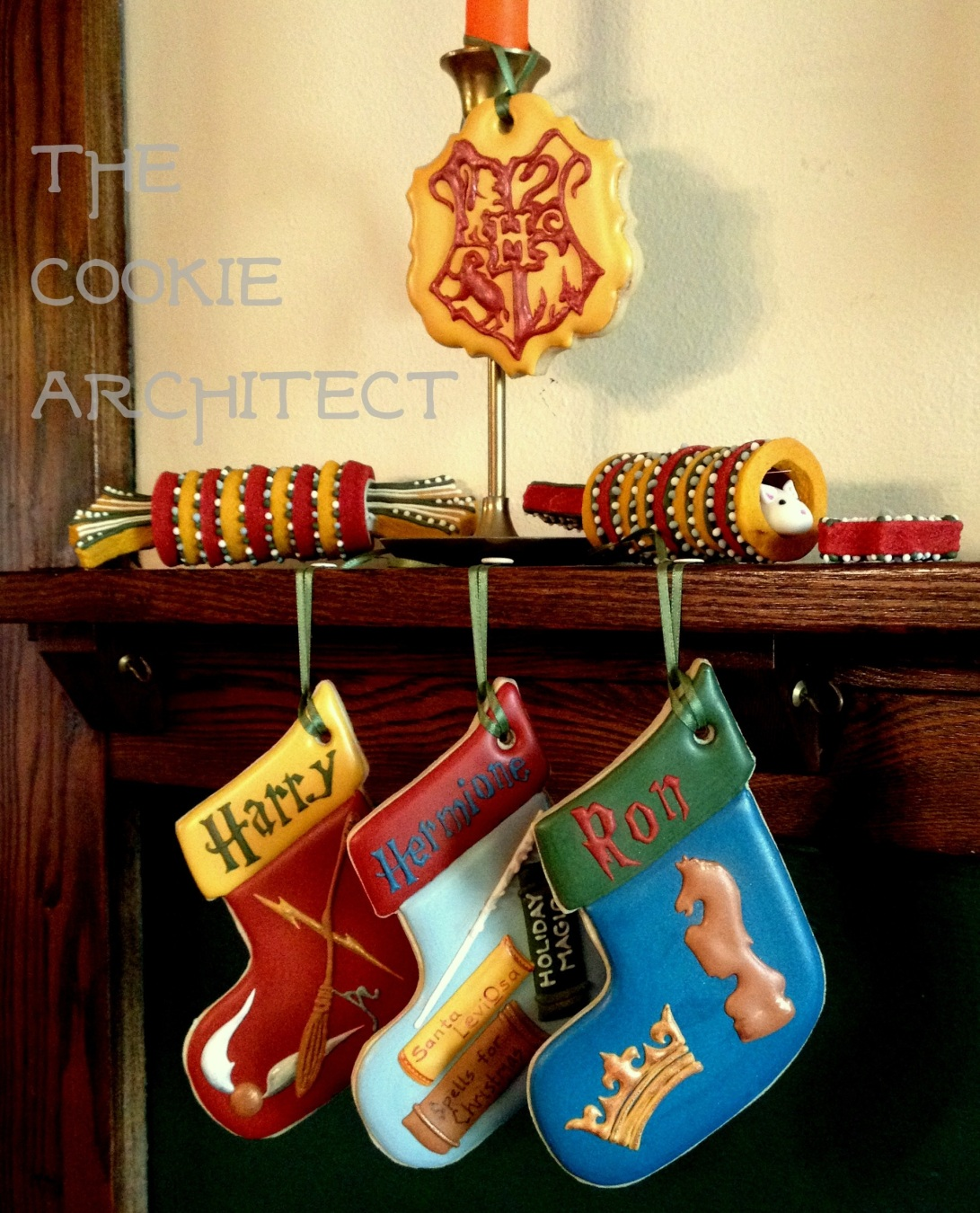 3D Shot Christmas at Hogwarts | The Cookie Architect