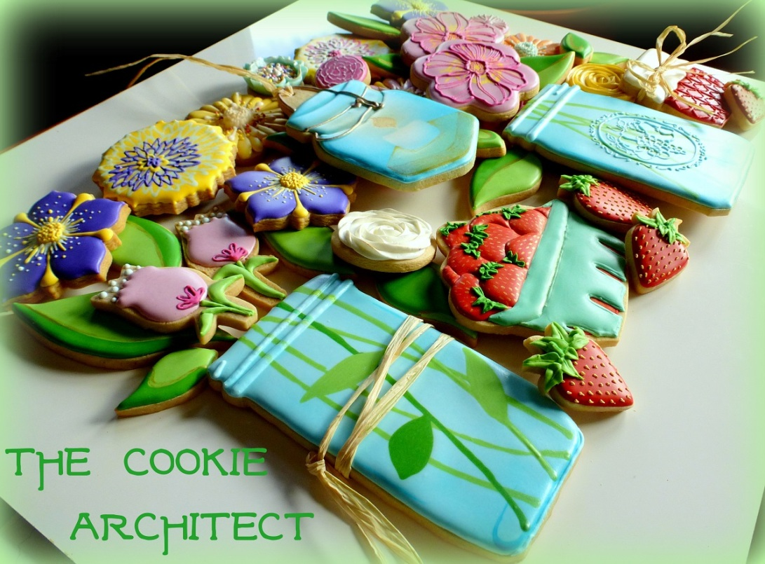 Cookie Puzzle Flower Angle | The Cookie Architect