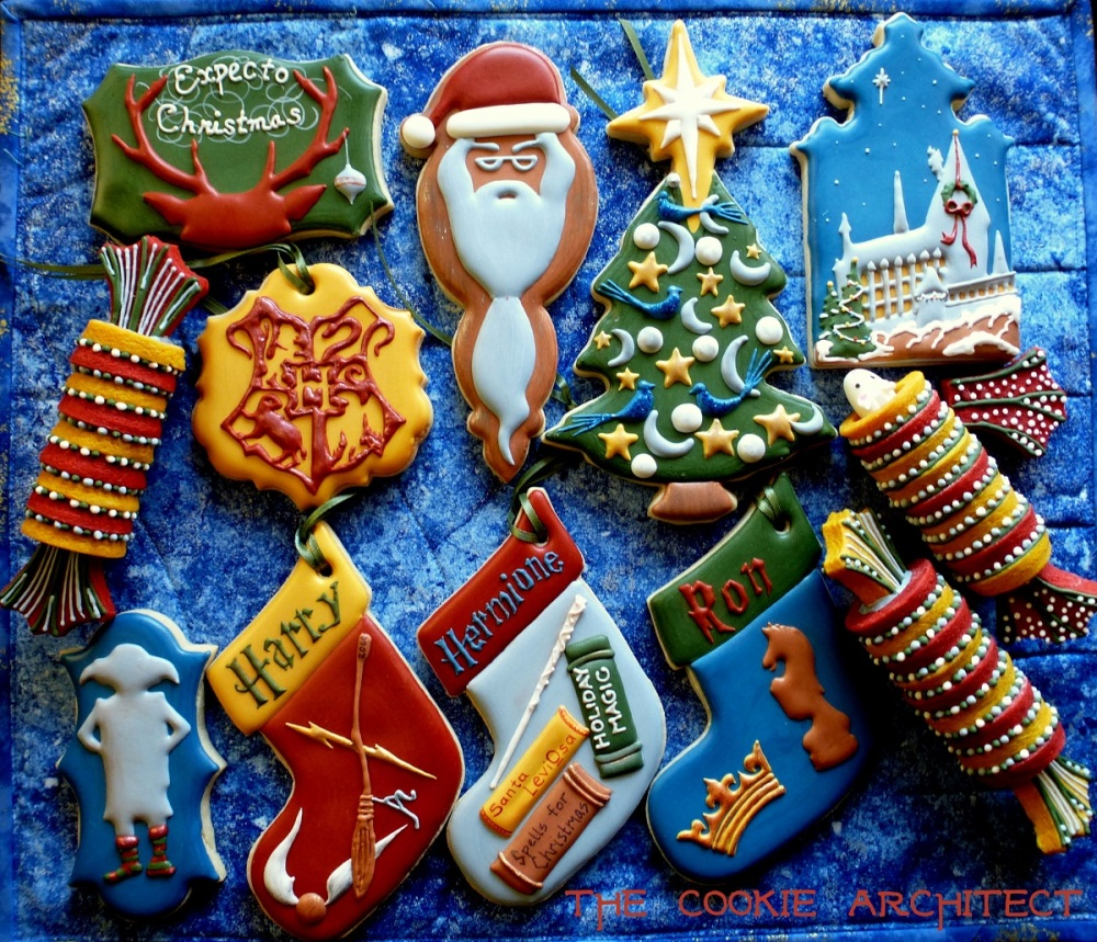 Christmas at Hogwarts | The Cookie Architect