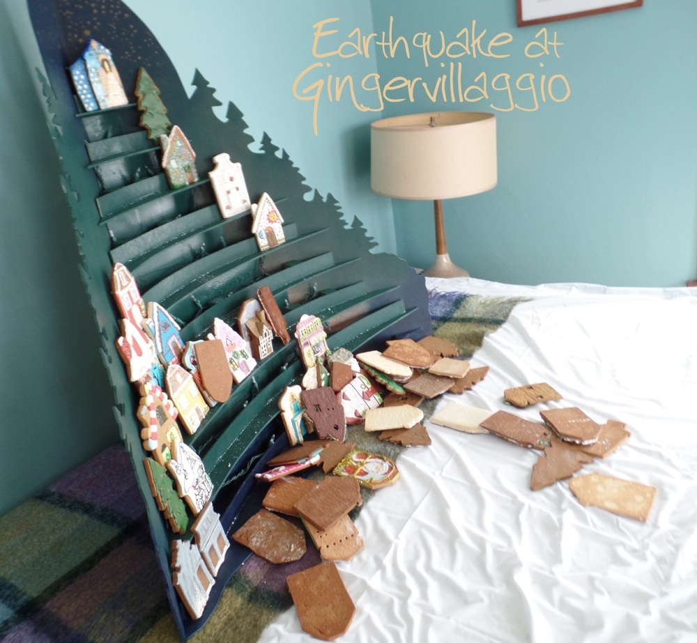 """""""Earthquake"""" at Gingervillaggio   The Cookie Architect"""