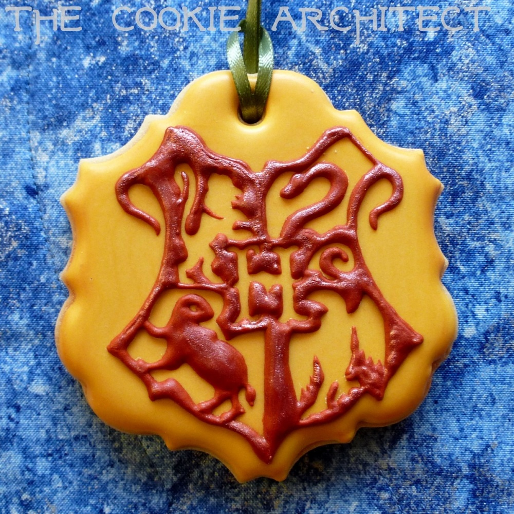 Hogwarts Emblem | The Cookie Architect