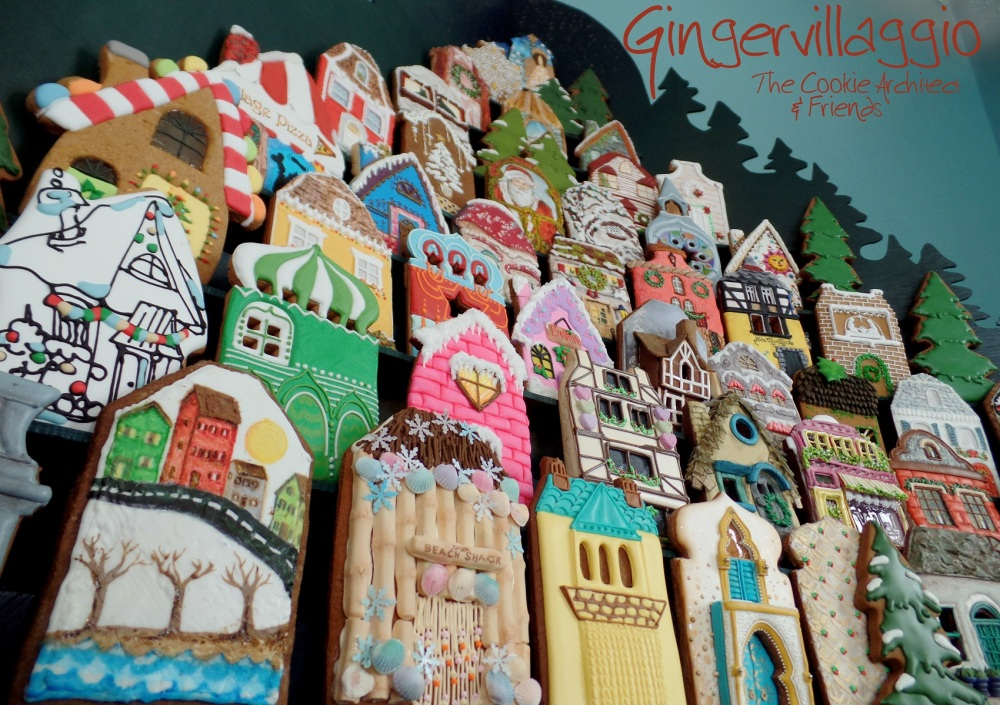 From the water Gingervillaggio | The Cookie Architect