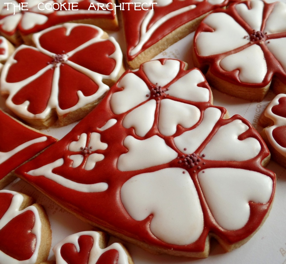 Heart Flower Detail | The Cookie Architect