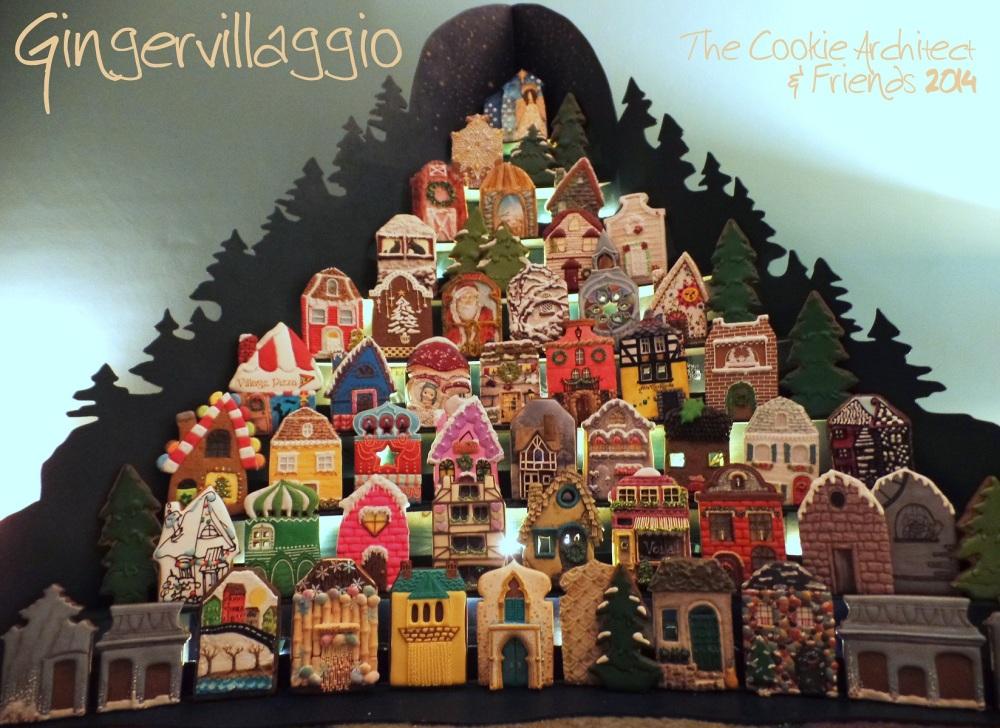 Twilight at Gingervillaggio   The Cookie Architect