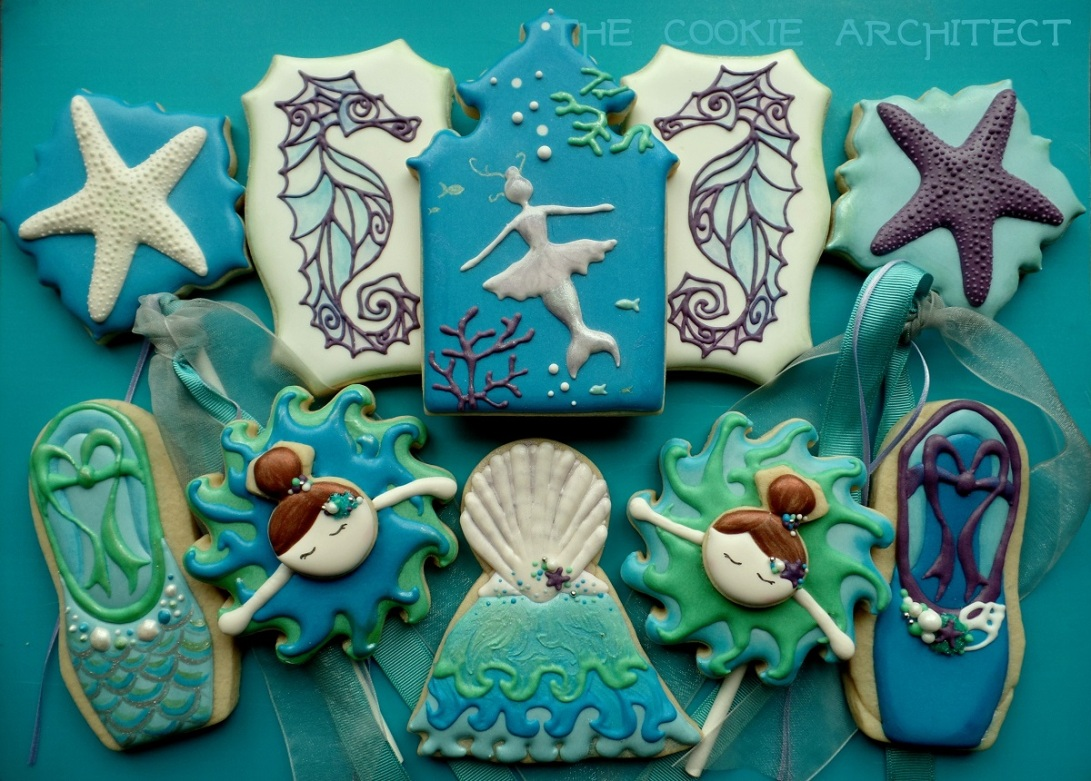 Mermaid Ballerina | The Cookie Architect
