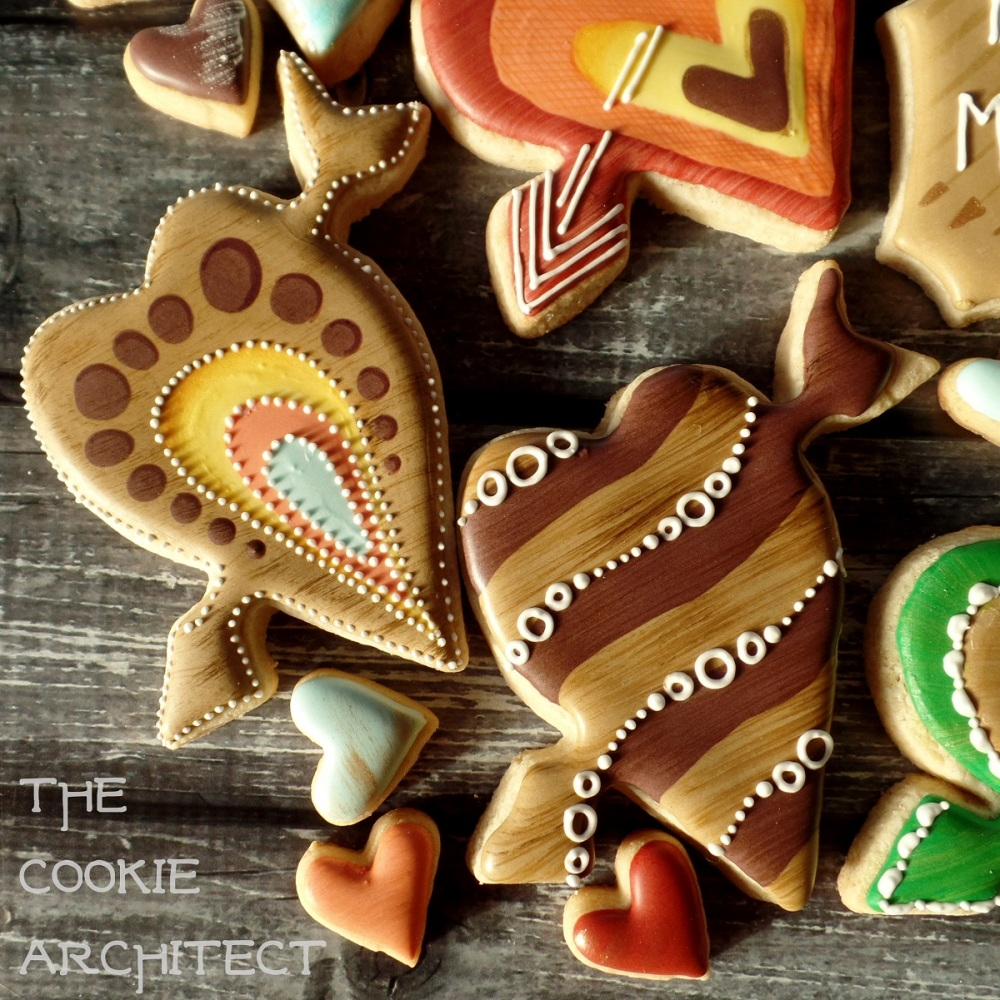 Campy Valentine Detail | The Cookie Architect