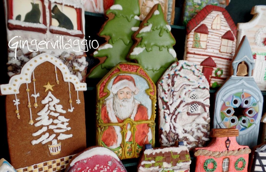 Santa at Gingervillaggio | The Cookie Architect