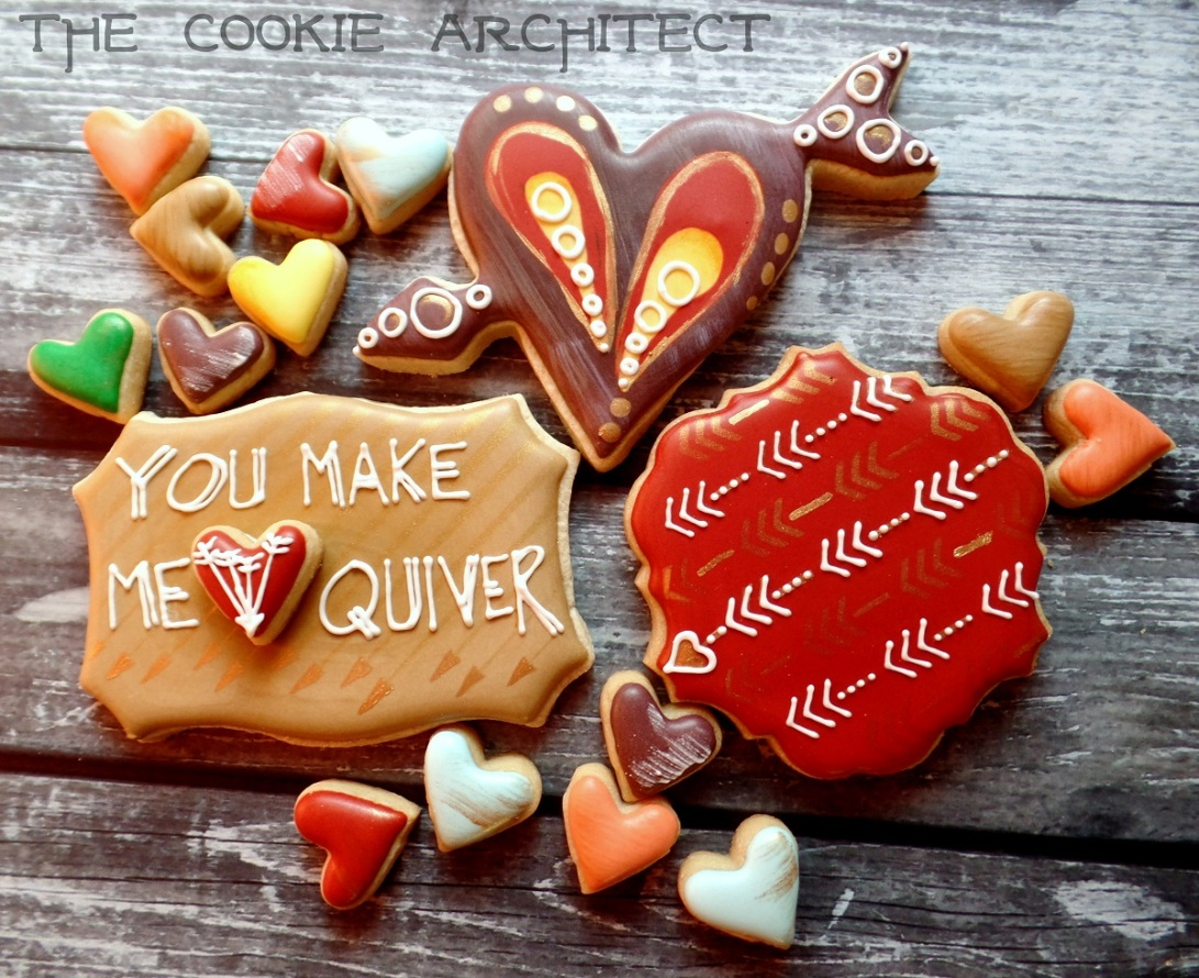 You Make Me Quiver | The Cookie Architect