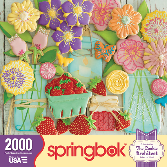 Springtime Cookies 2000 pc box | The Cookie Architect