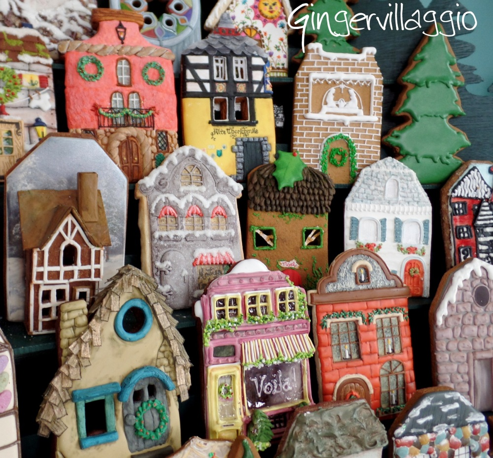 Downtown Gingervillaggio | The Cookie Architect
