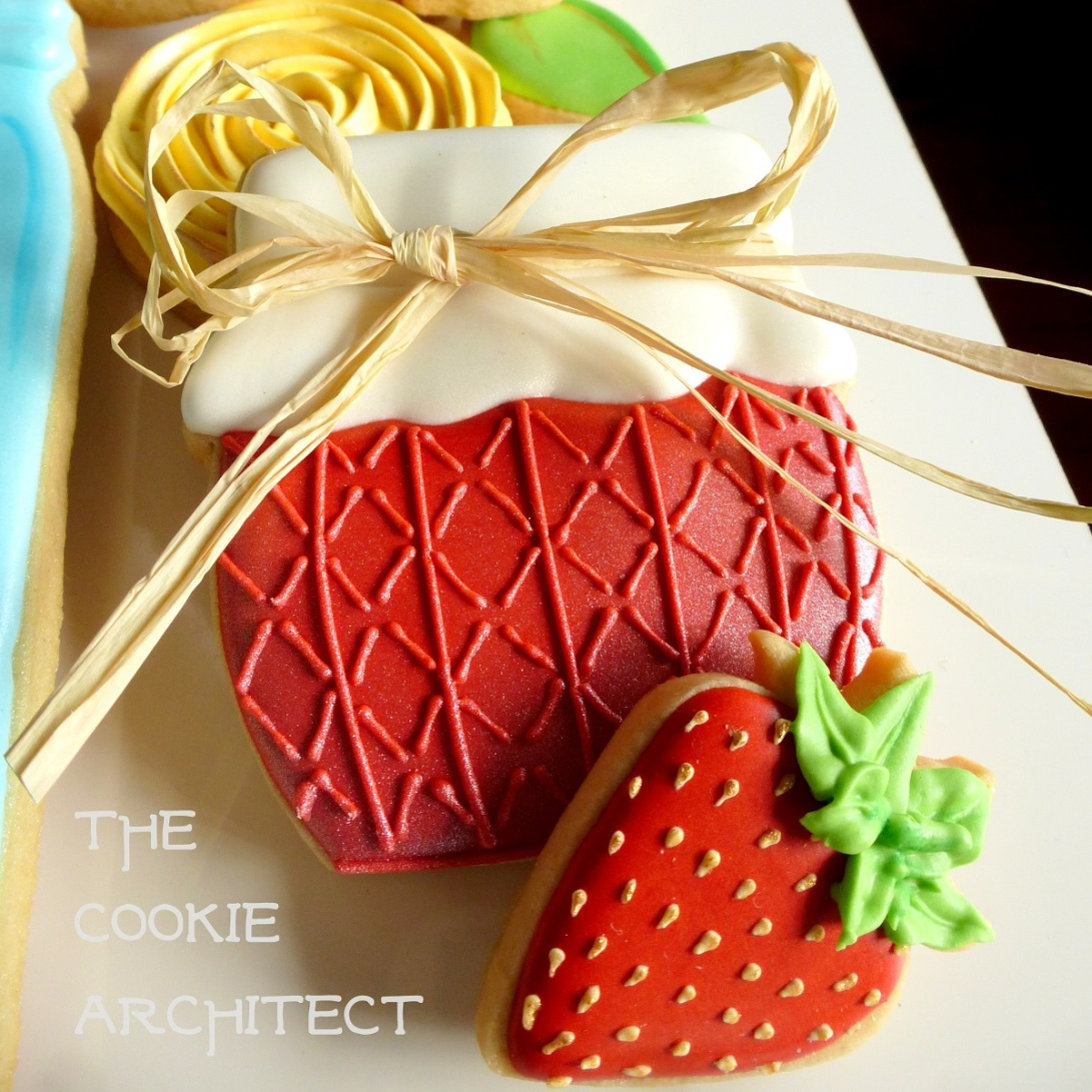 Strawberry Jam | The Cookie Architect