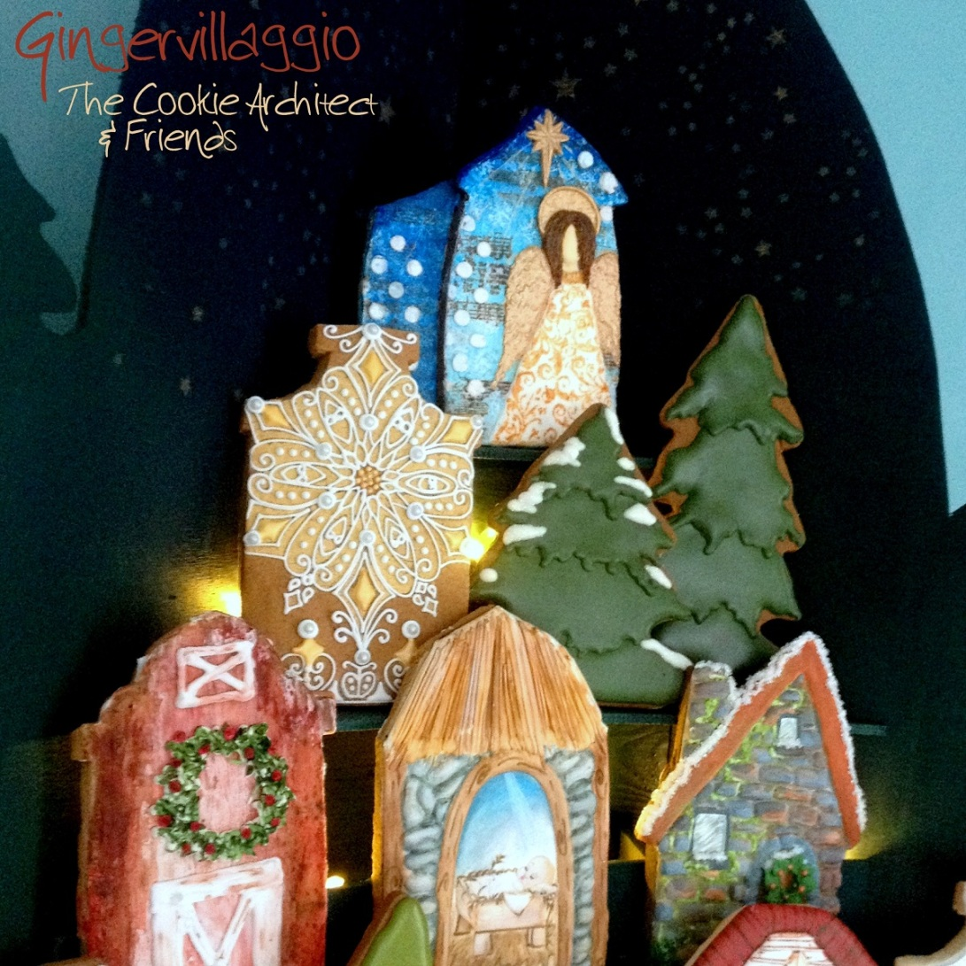 Top of Gingervillaggio | The Cookie Architect