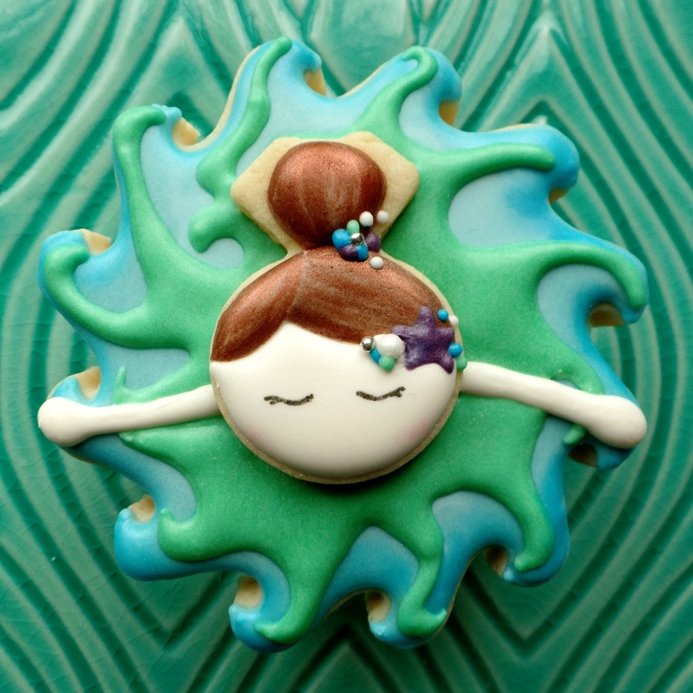 Mermaid Twirling | The Cookie Architect
