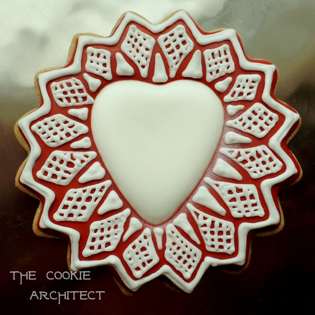 Valentine's Day Heart | The Cookie Architect