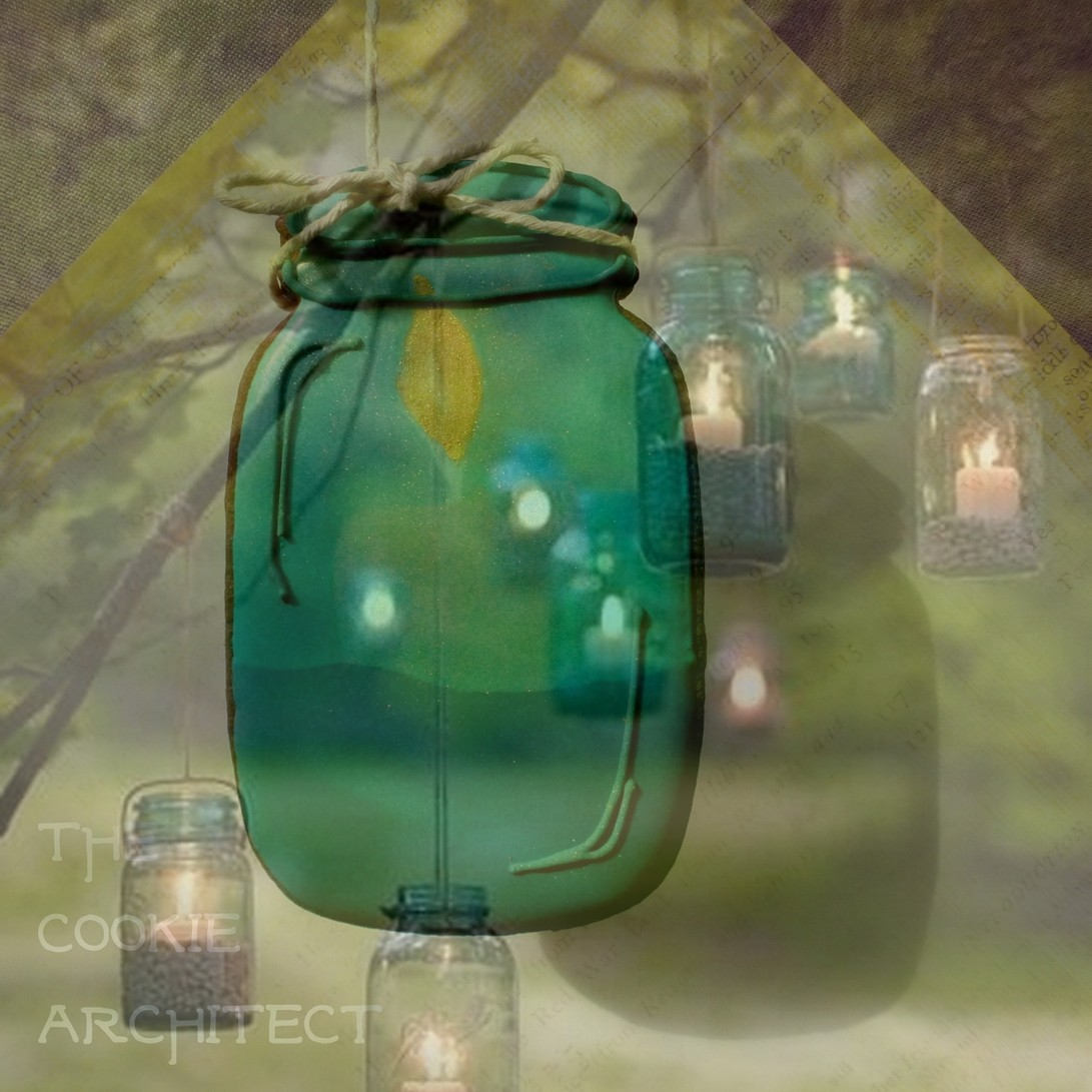 Mason Jar and Inspiration shot superimposed