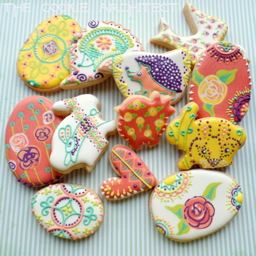 Easter Eclectic | The Cookie Architect