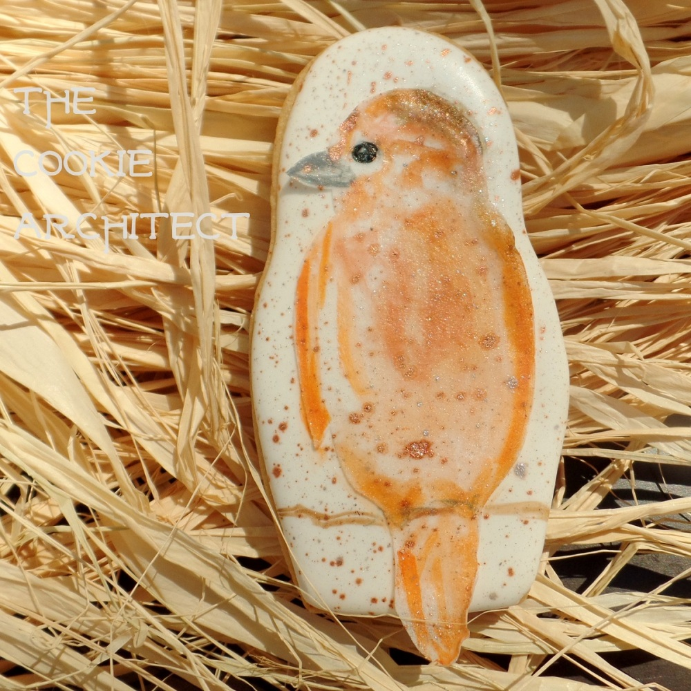 Orange Bird | The Cookie Architect