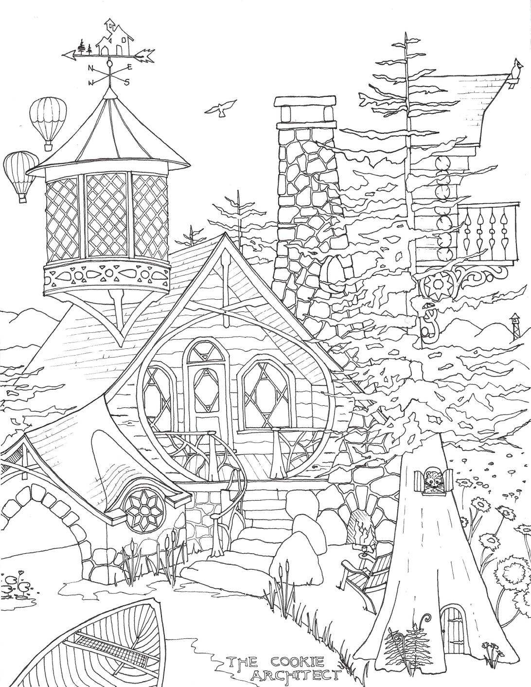 ADK Coloring Page