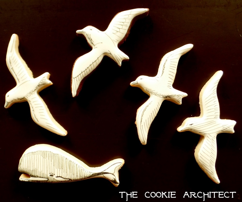 Scrimshaw Style | The Cookie Architect