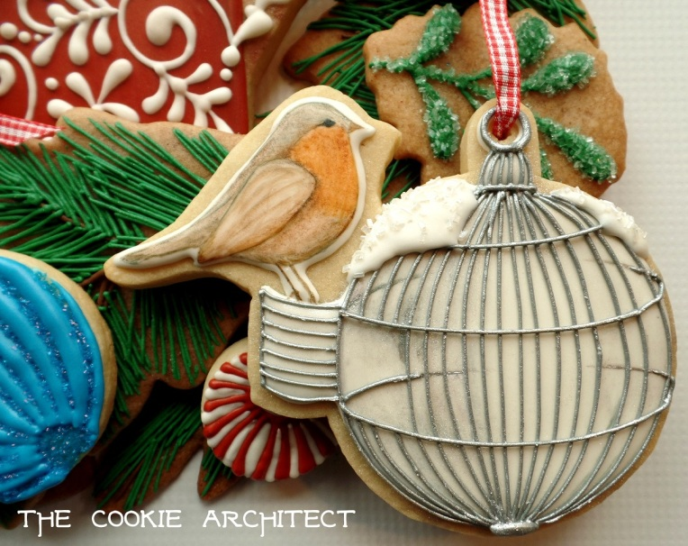 Maybe this is the wren? Loved this birdhouse ornament.