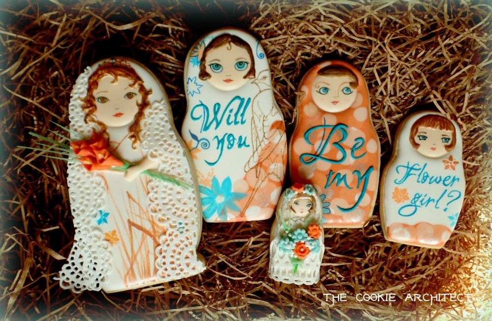 Will you be my flower girl?   The Cookie Architect