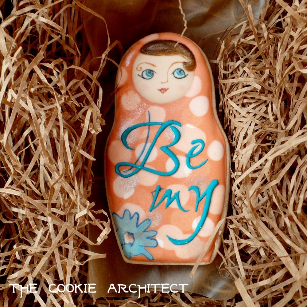 Be My | The Cookie Architect