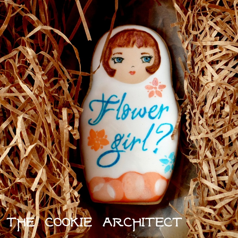 Flower Girl? | The Cookie Architect