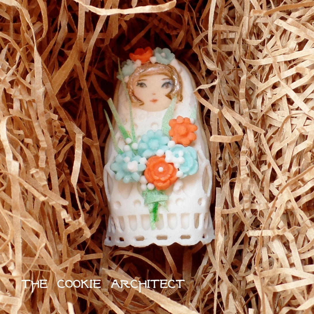 Flower Girl | The Cookie Architect