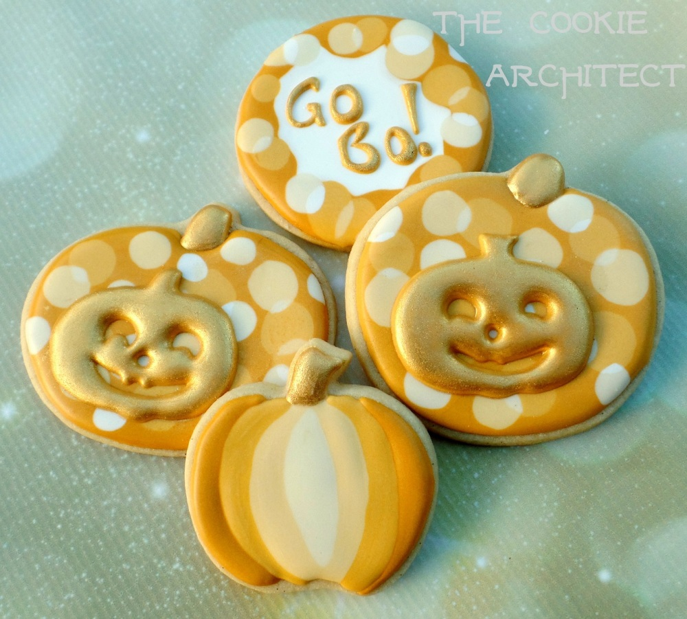 Go Bo 2015 Bokeh Pumpkins | The Cookie Architect