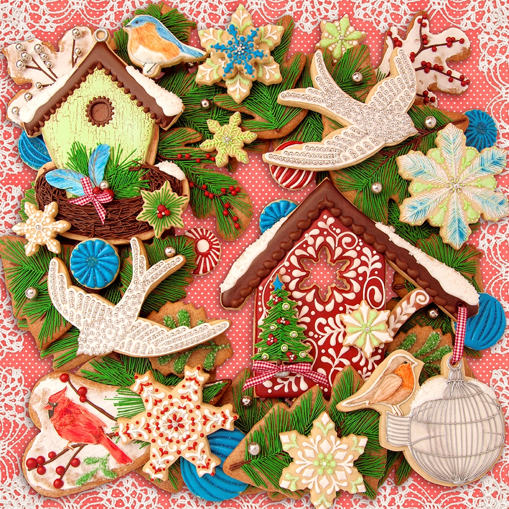 Christmas Creations   The Cookie Architect