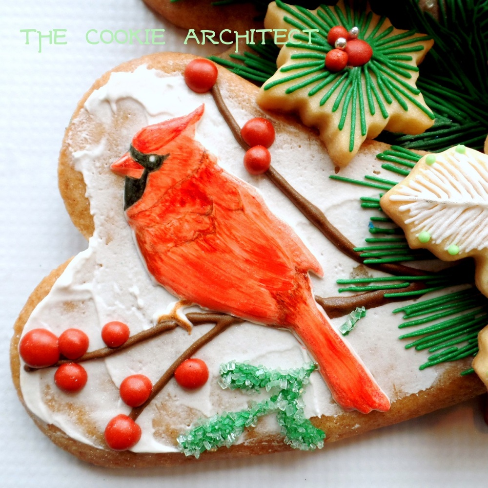 Cardinal | The Cookie Architect
