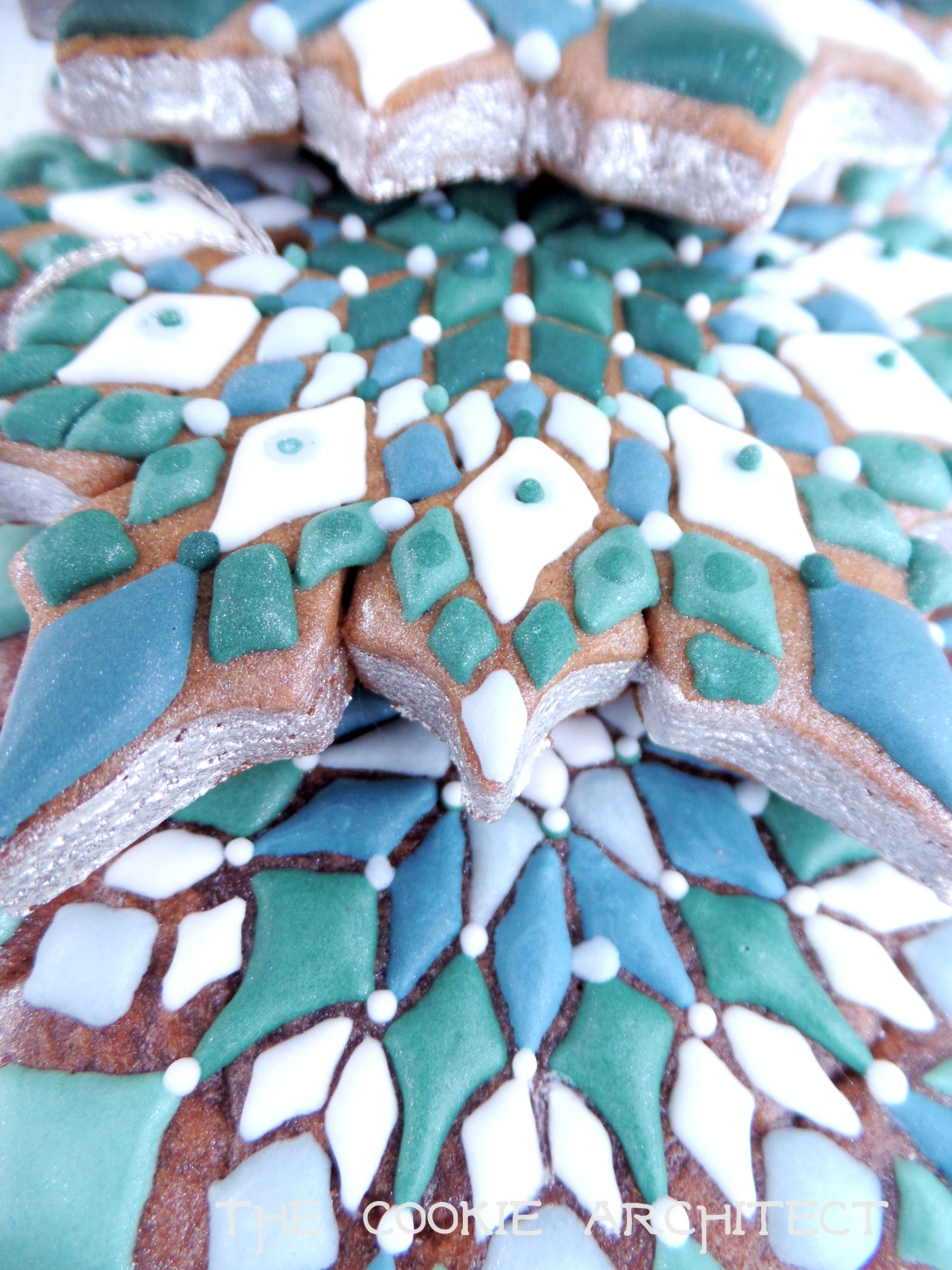 Snowflake closeup | The Cookie Architect