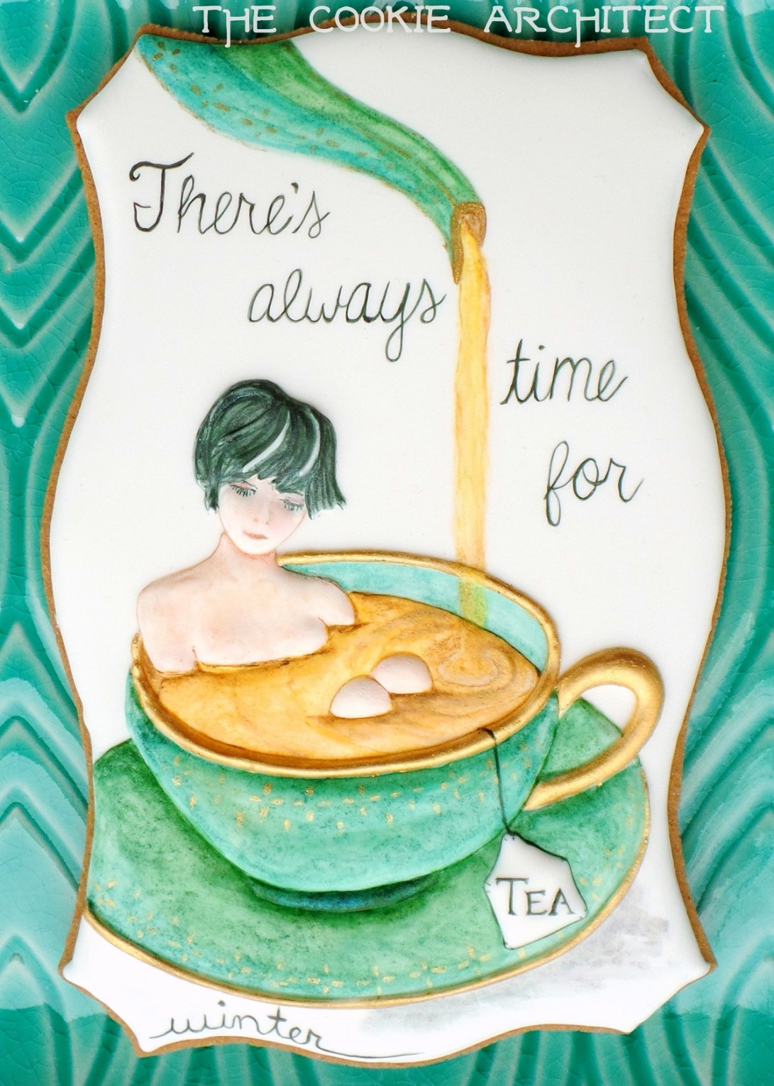 Time for Tea: Winter | The Cookie Architect