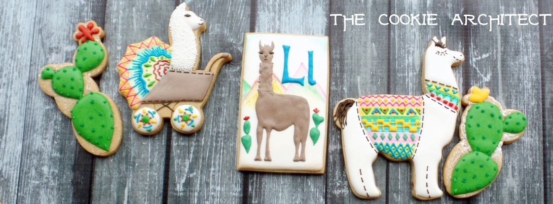 Llama Baby Banner | The Cookie Architect