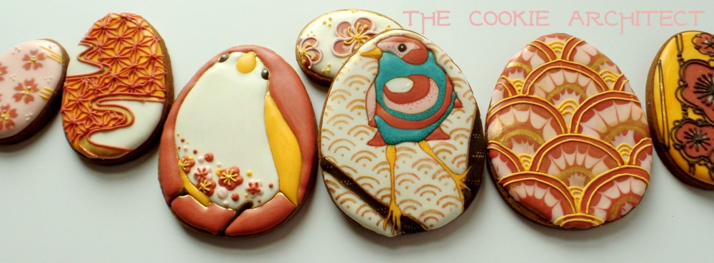 Japanese Bird Banner | The Cookie Architect