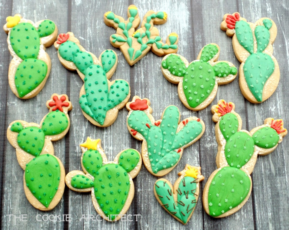 Cacti Cookies | The Cookie Architect