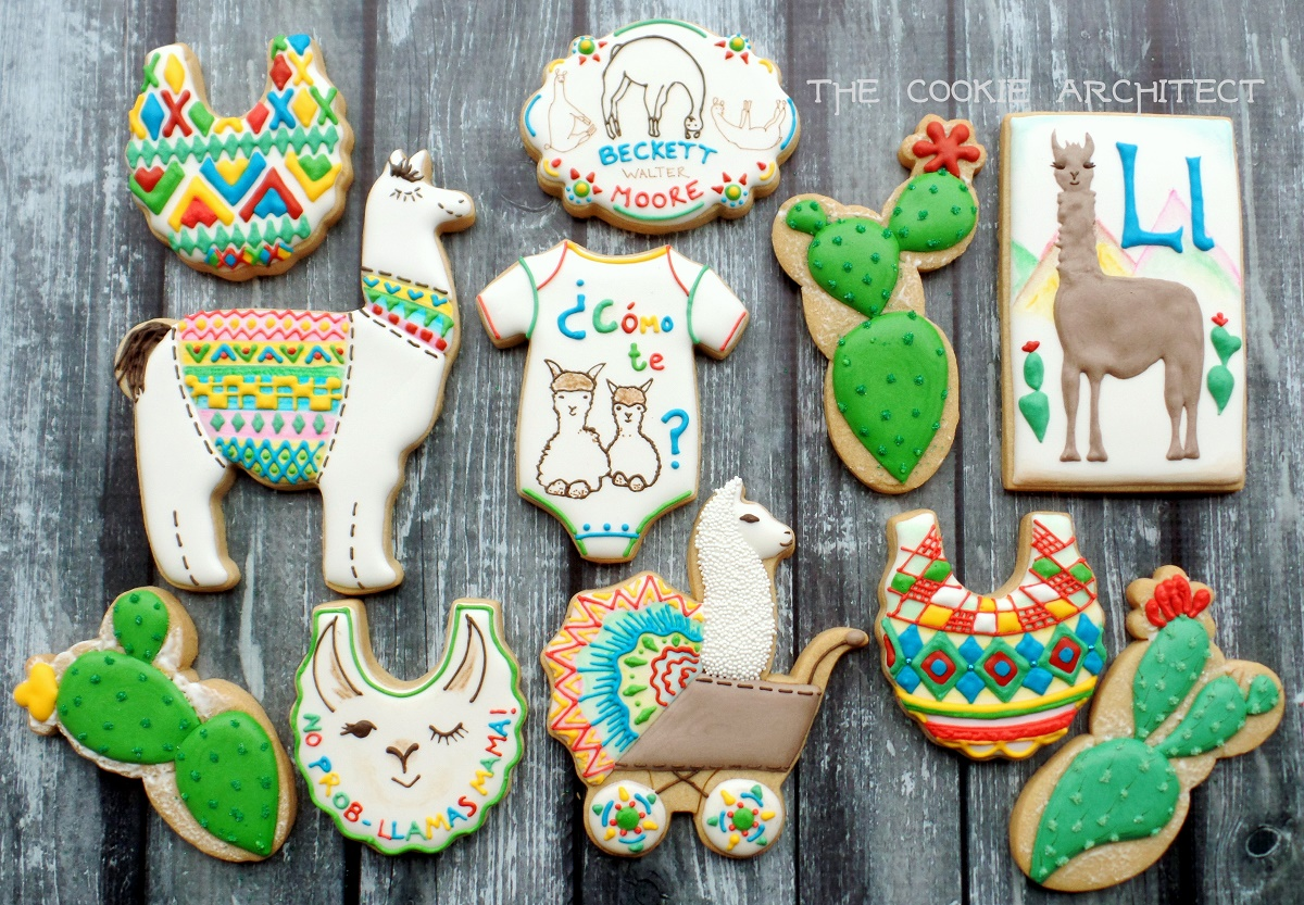 Llamas, Baby! | The Cookie Architect