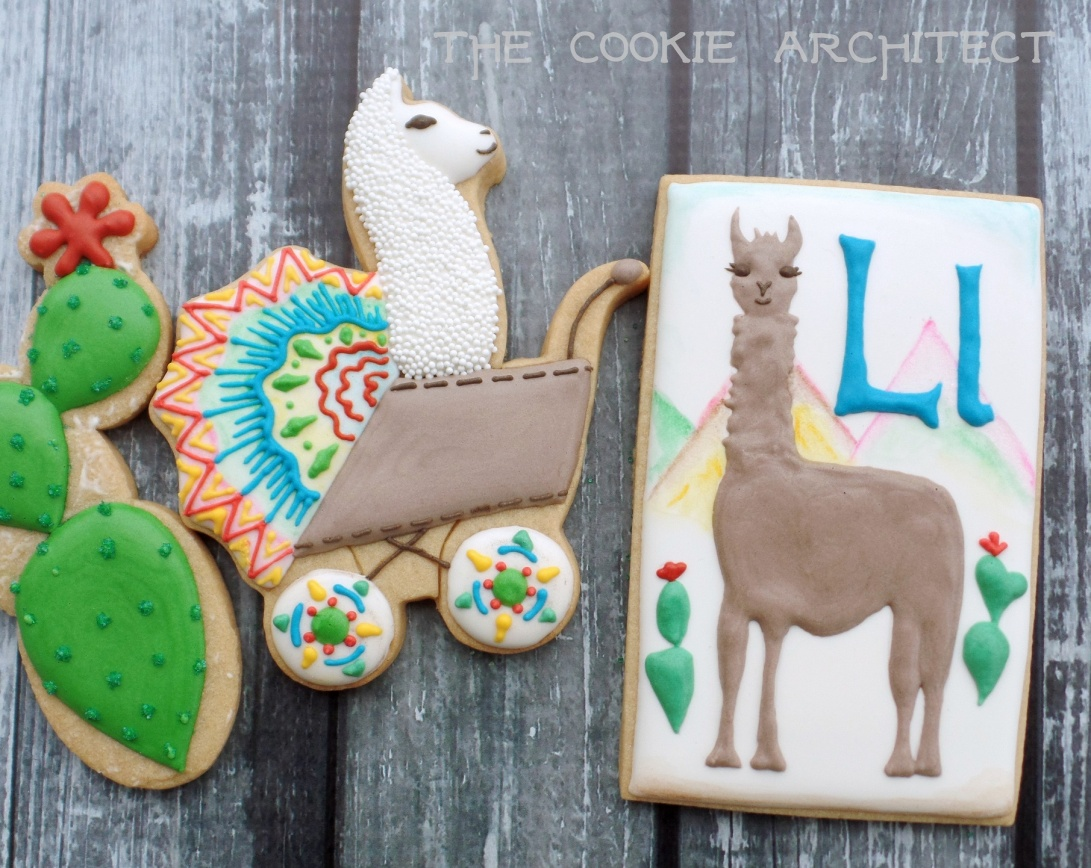 Ll is for llama | The Cookie Architect