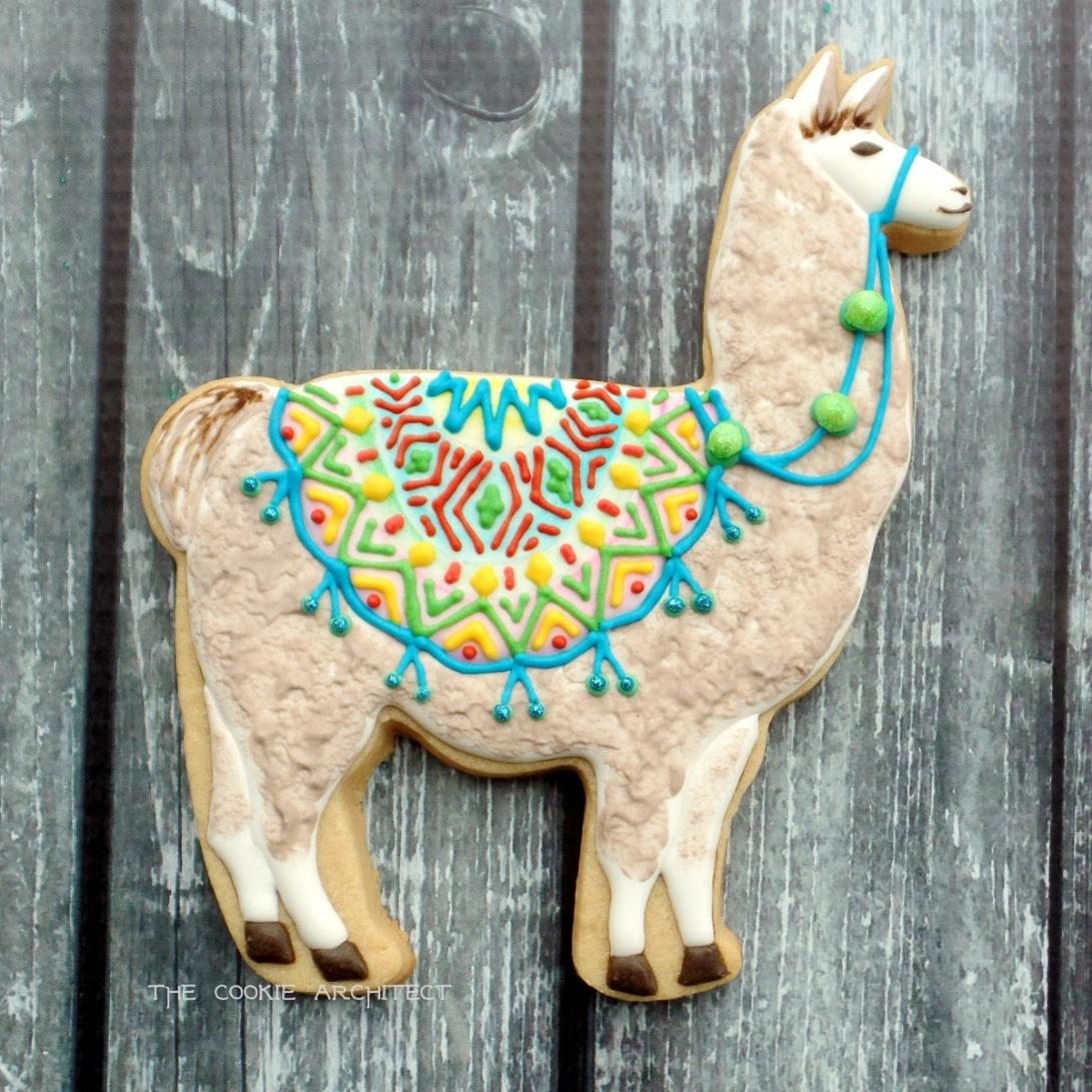 Llama | The Cookie Architect