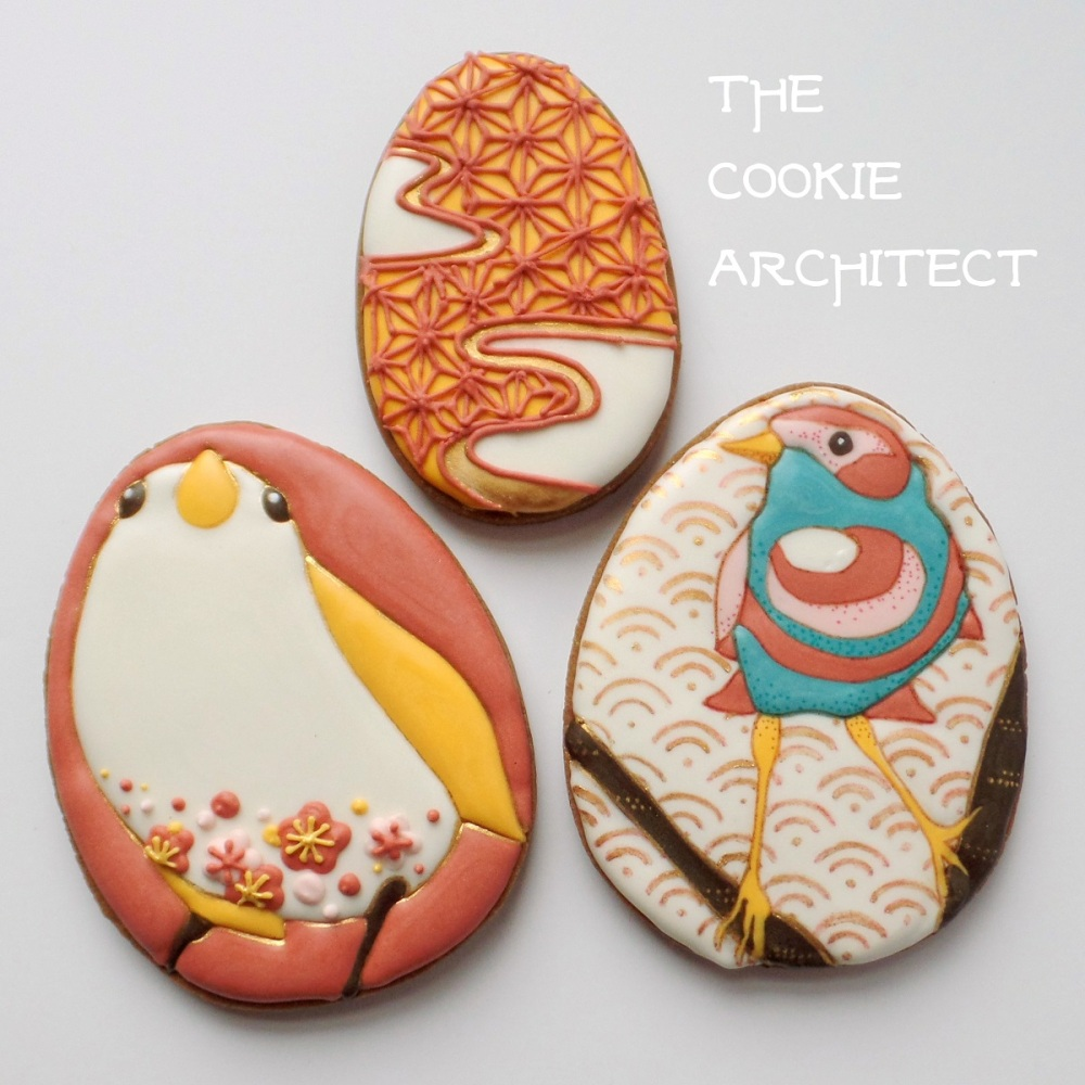 Pink Birds | The Cookie Architect