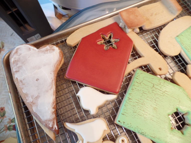 Bases Ready. Then I had two days to ice all these cookies and no sleep or pictures happened.