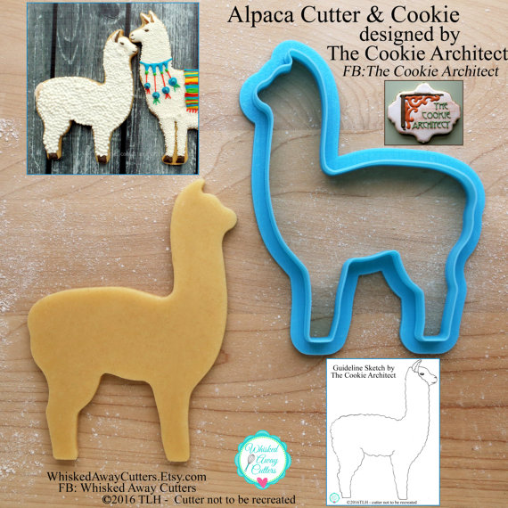 Alpaca Cutter Whisked Away Cutters