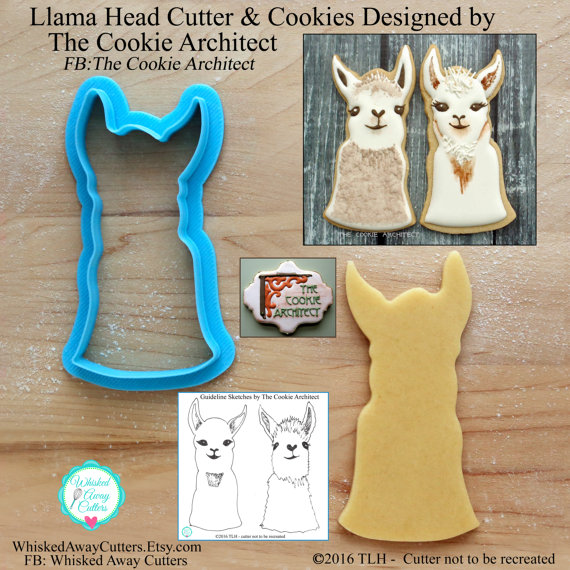 Lllama Head Cutter Whisked Away Cutter