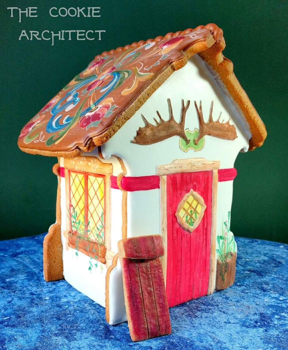 Christmas North Gingerbread House | The Cookie Architect