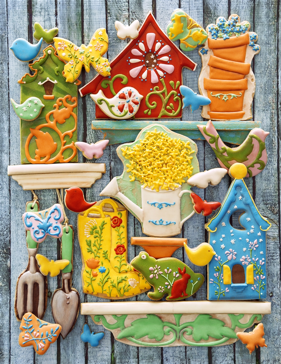Edible Garden Springbok Jigsaw Puzzle | The Cookie Architect