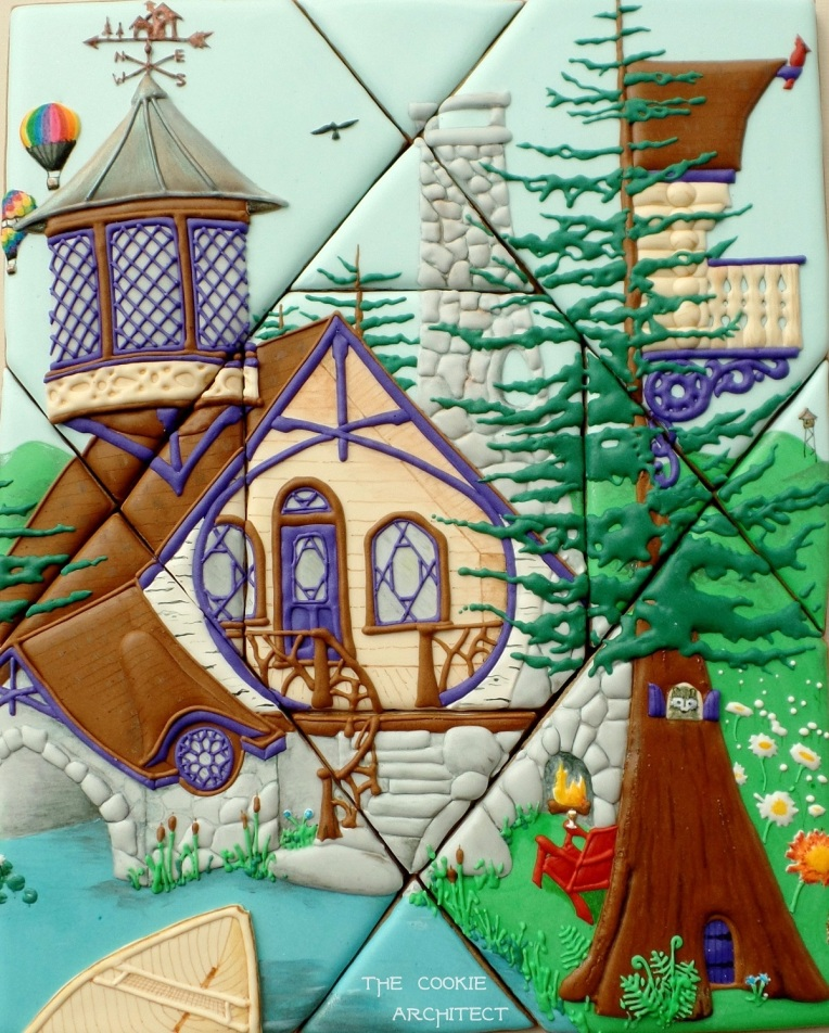 Adirondack Dreaming | The Cookie Architect