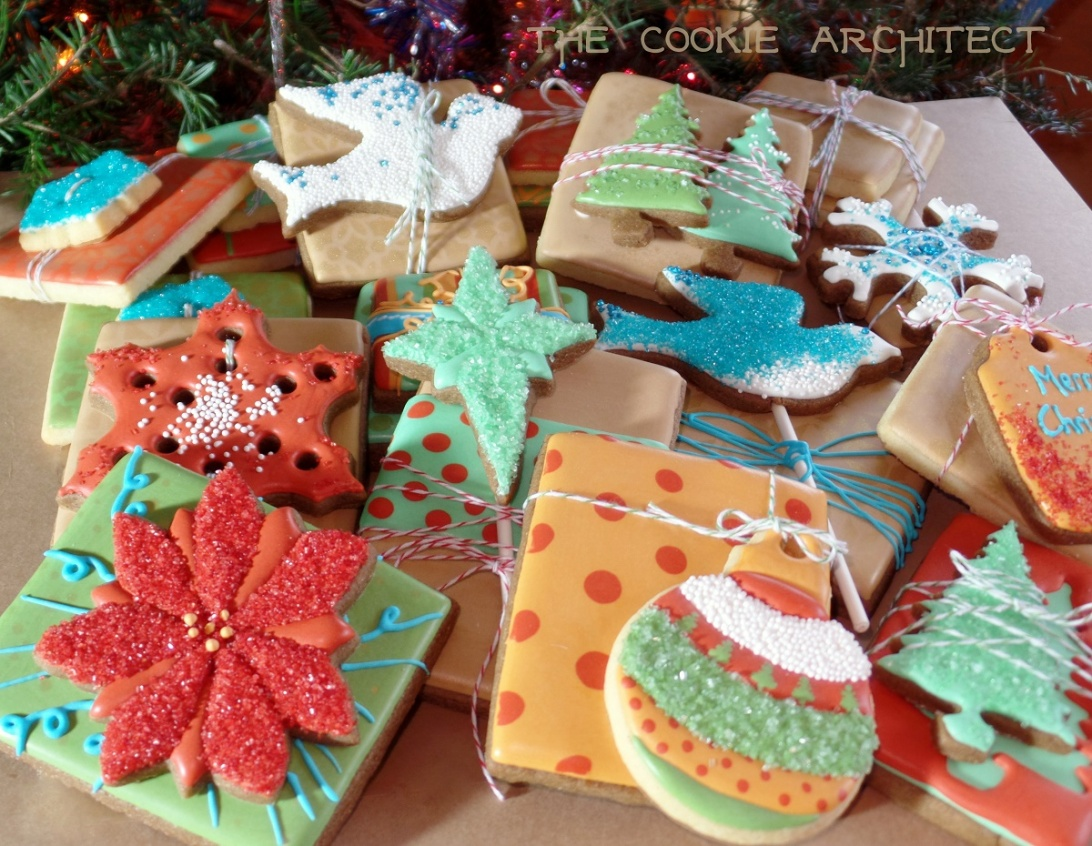 Christmas Cookie Presents | The Cookie Architect