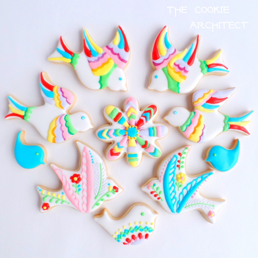 Bright Birds | The Cookie Architect