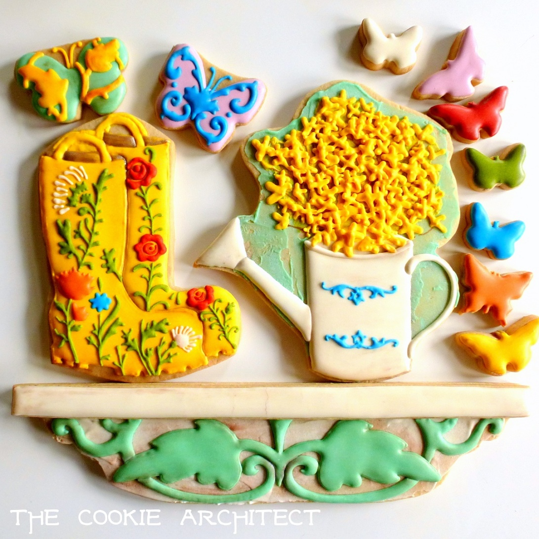 Garden boots-and-things | The Cookie Architect