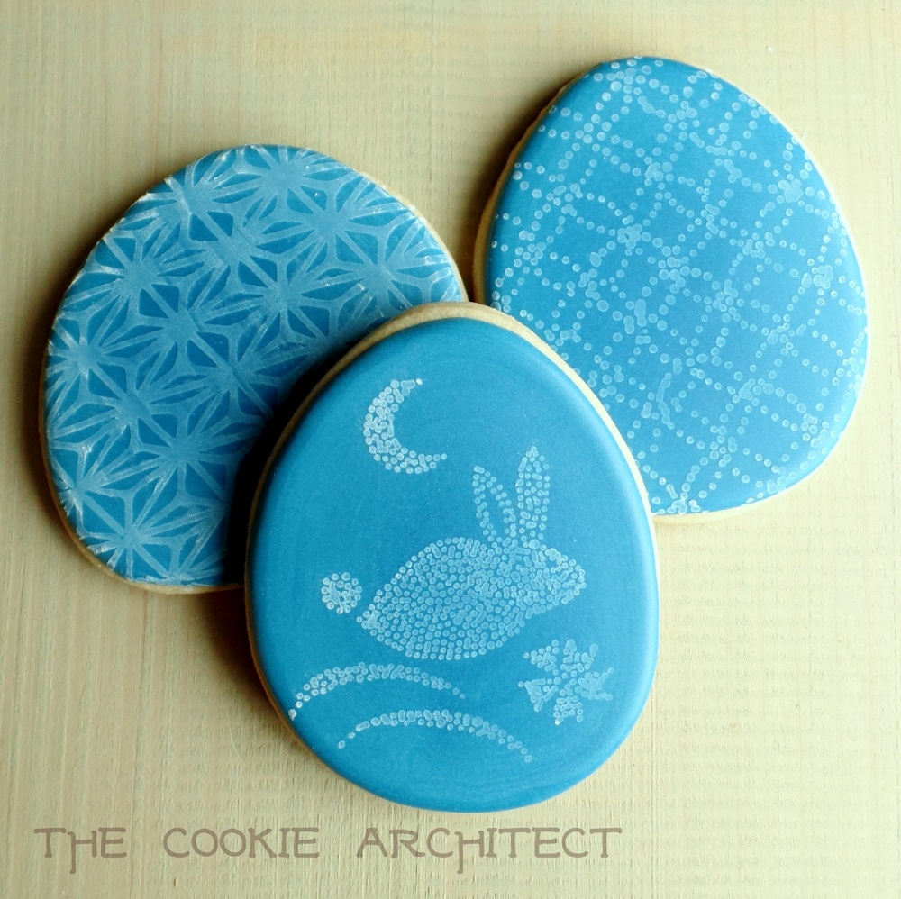 Shibori Bunny | The Cookie Architect